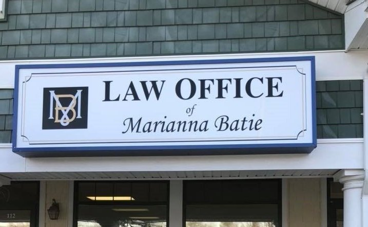 law Office of Marianna Batie Signage